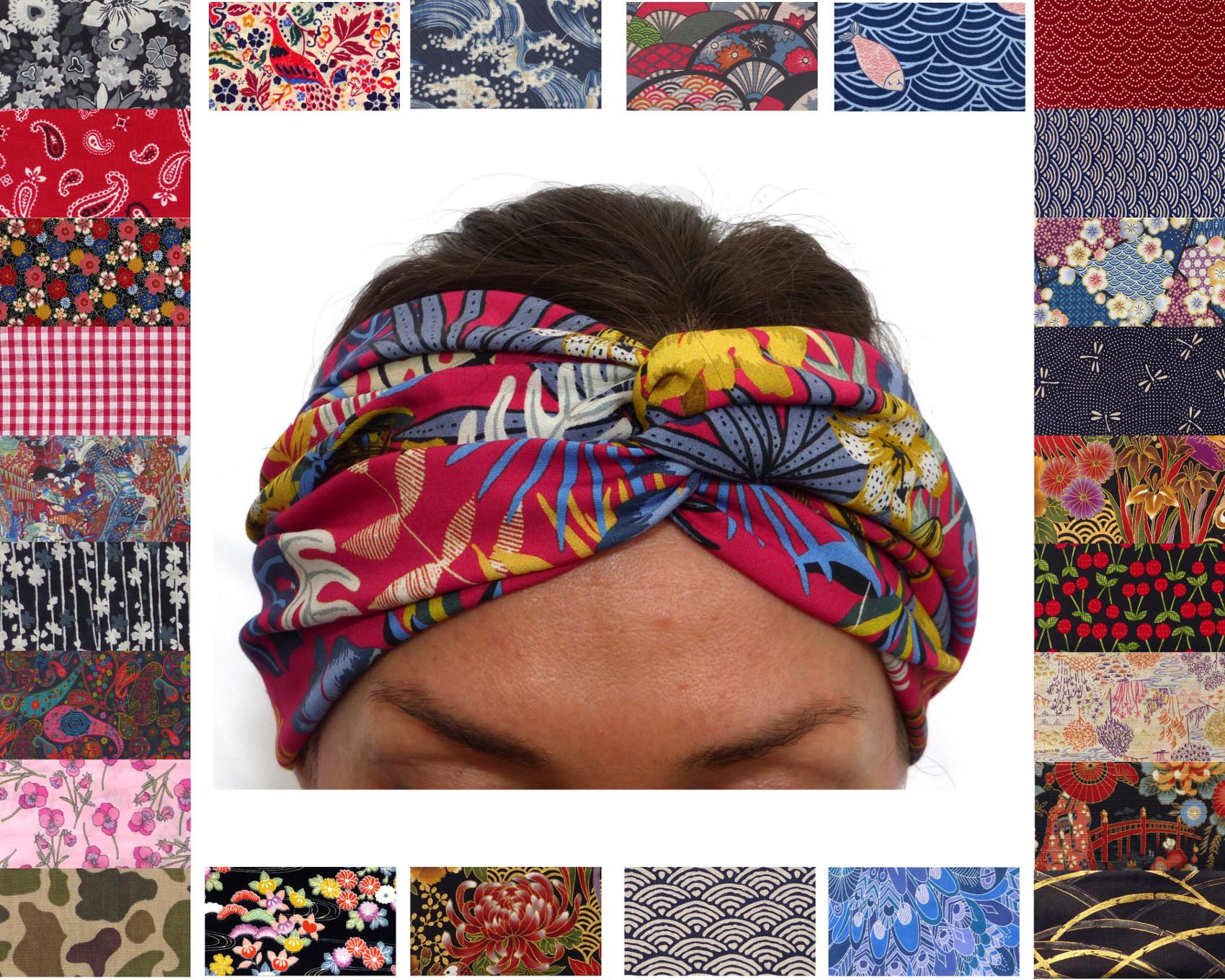 discount new design lower price with Bandeau à Cheveux - 150+ Tissus au Choix