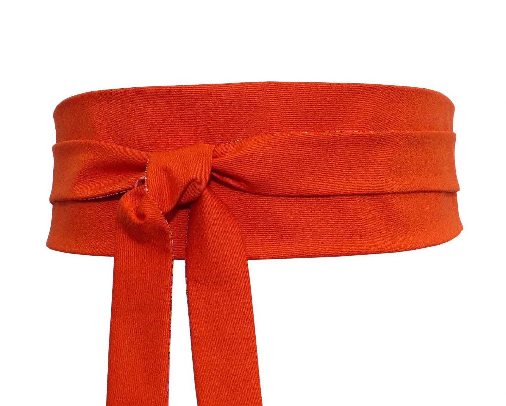 9fa55823e32 Ceinture Obi Orange Uni – Polina Couture