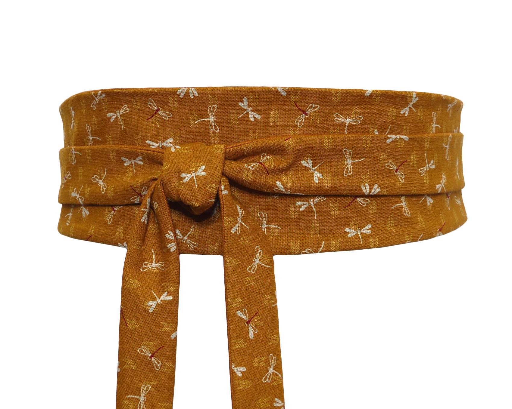 a8008558e21 Mustard Obi Waist Belt