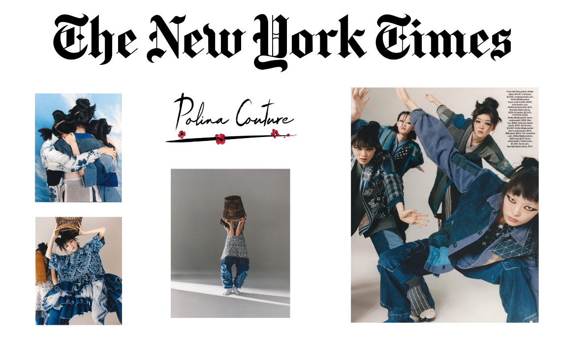 Polina Couture in the New York Times Magazine - Polina Couture